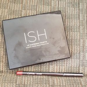 Ish lip statement palette and Ofra lip liner